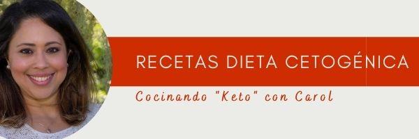 Recetas Dieta Cetogénica